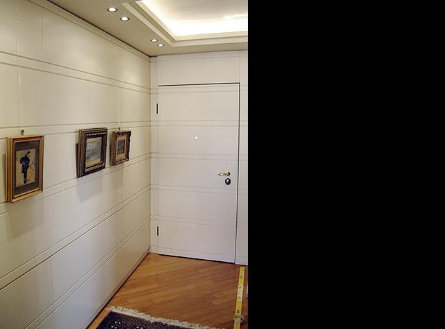Soggiorno Con Armadio: Dynamic day ? una parete attrezzata con letto a scomparsa armadio.