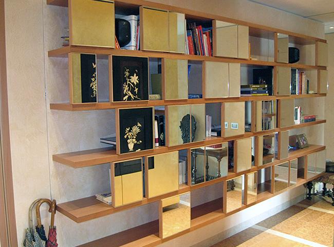 Armadio libreria soggiorno idee per il design della casa for Libreria soggiorno design